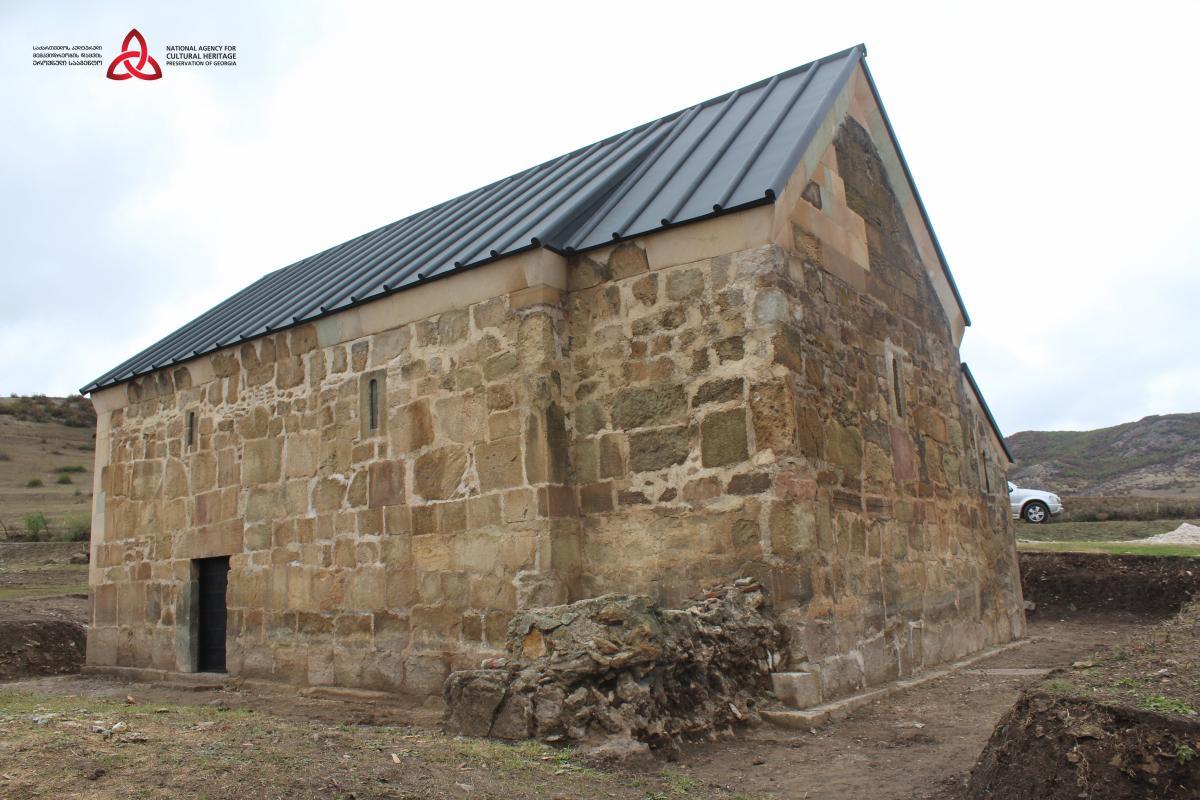 Грузия: ведется реабилитация базилики Мусоприани / heritagesites.ge