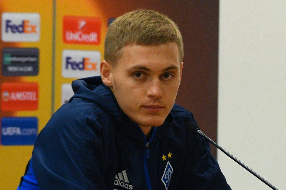 Виталий Буяльский наконец дождался вызова в сборную / фото fcdynamo.kiev.ua