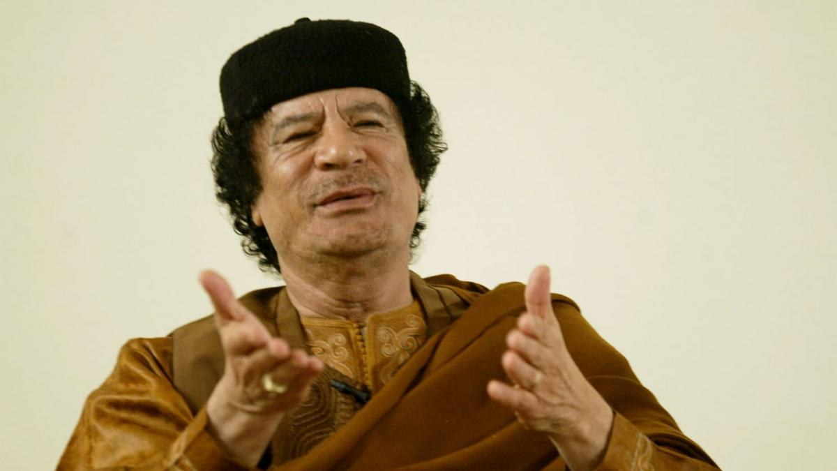 Муаммар Каддафи / REUTERS