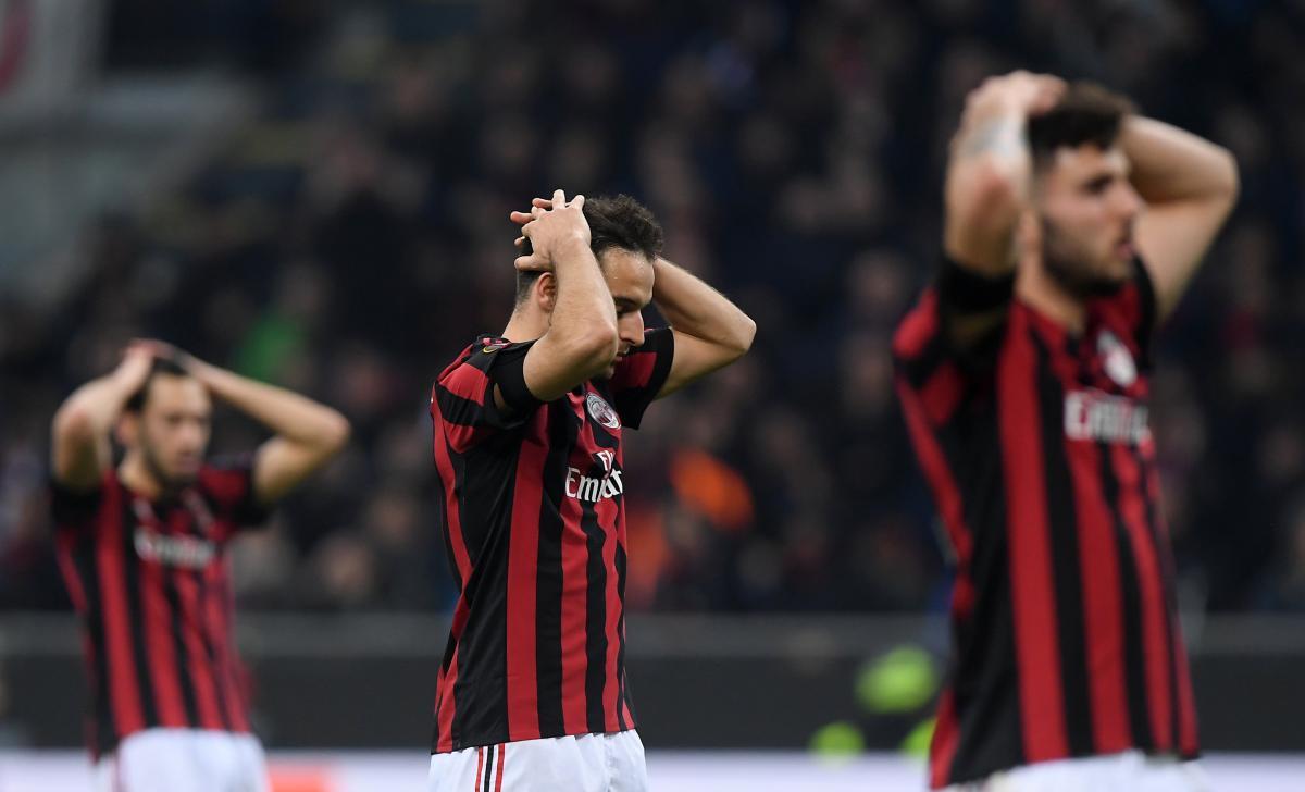 Милан наказан за несоблюдение правил финансового фэйр-плей / REUTERS