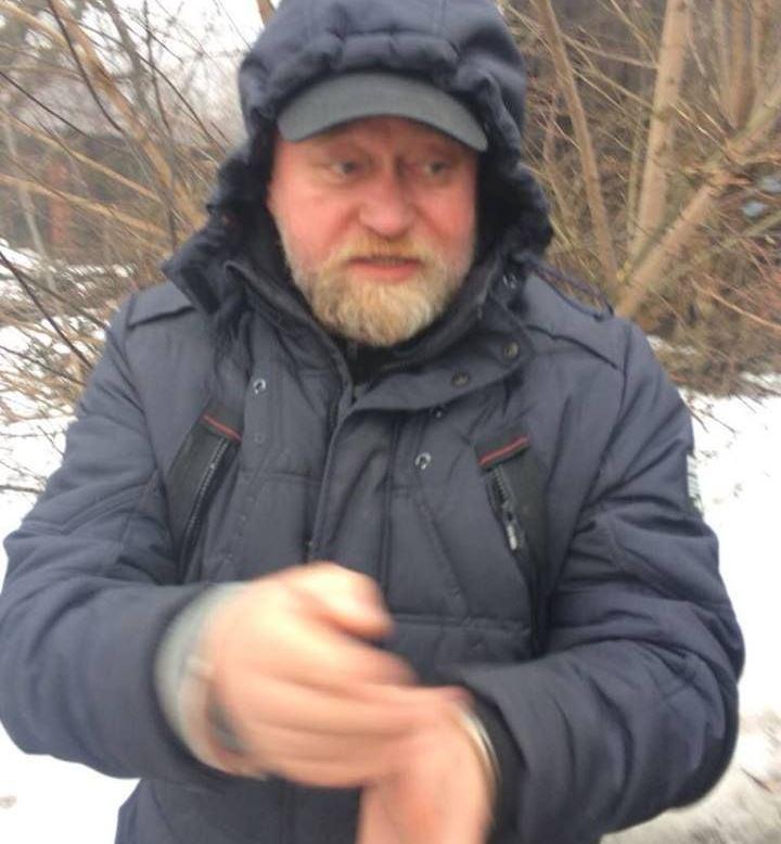 Рубан намагався провезти зброю / фото Страна.ua