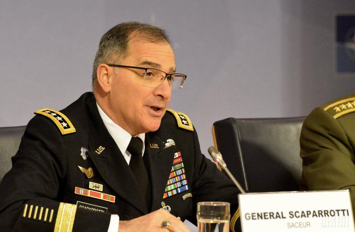 Скапаротти отметил, что НАТО должно наращивать свои возможности \ фото УНИАН