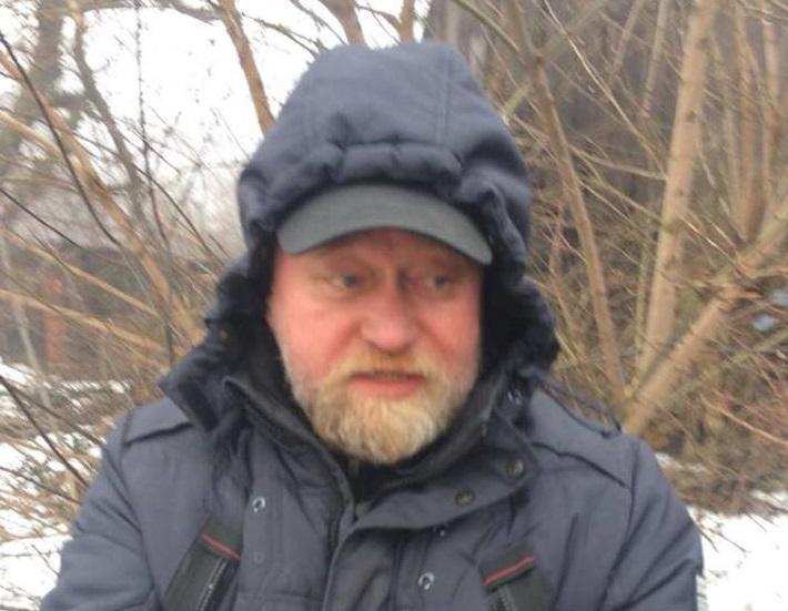"""Рубана затримали в контрольному пункті """"Майорське"""" / фото facebook.com/miroslavgai"""