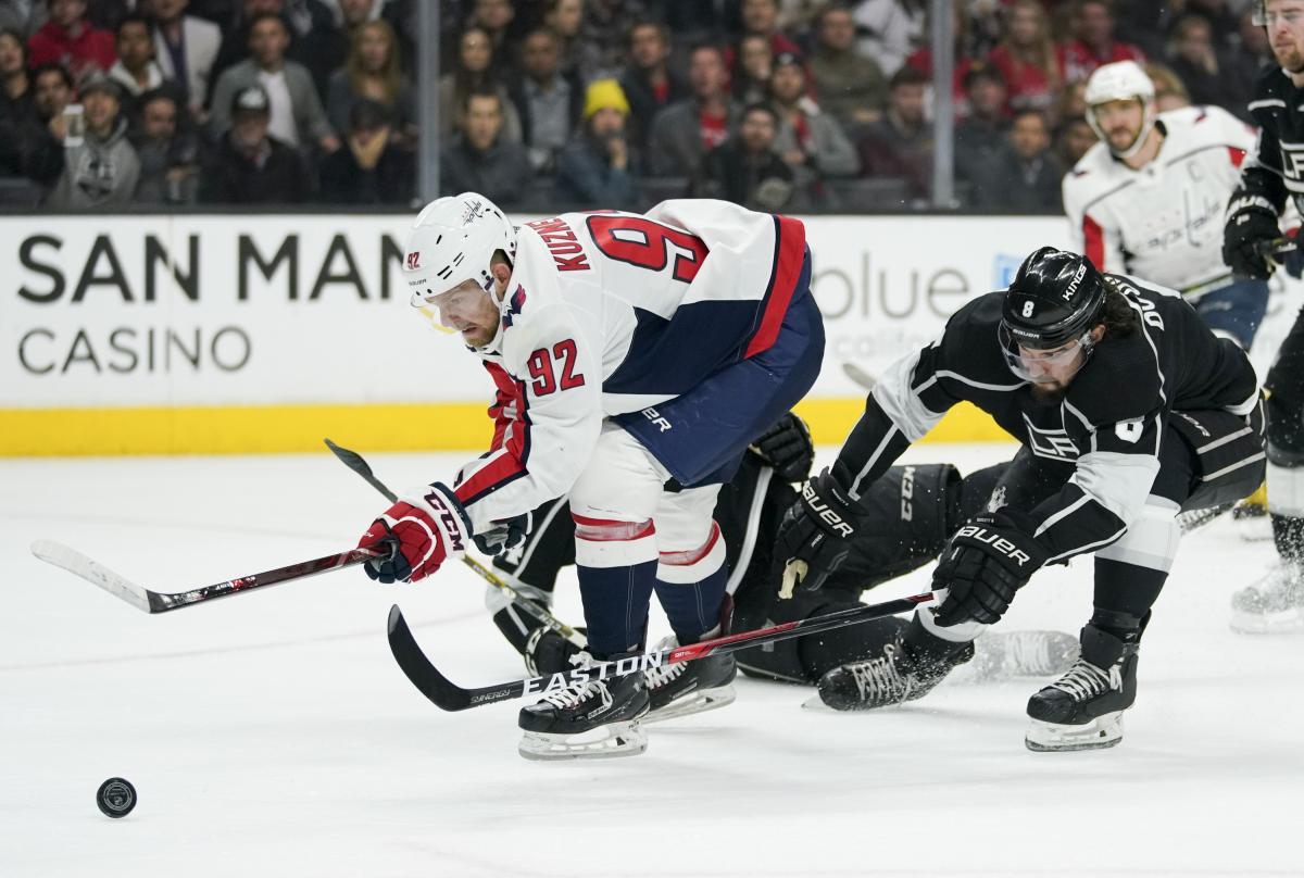 """""""Вашингтон"""" програв """"Лос-Анджелесу"""" у матчі регулярного чемпіонату НХЛ / Reuters"""