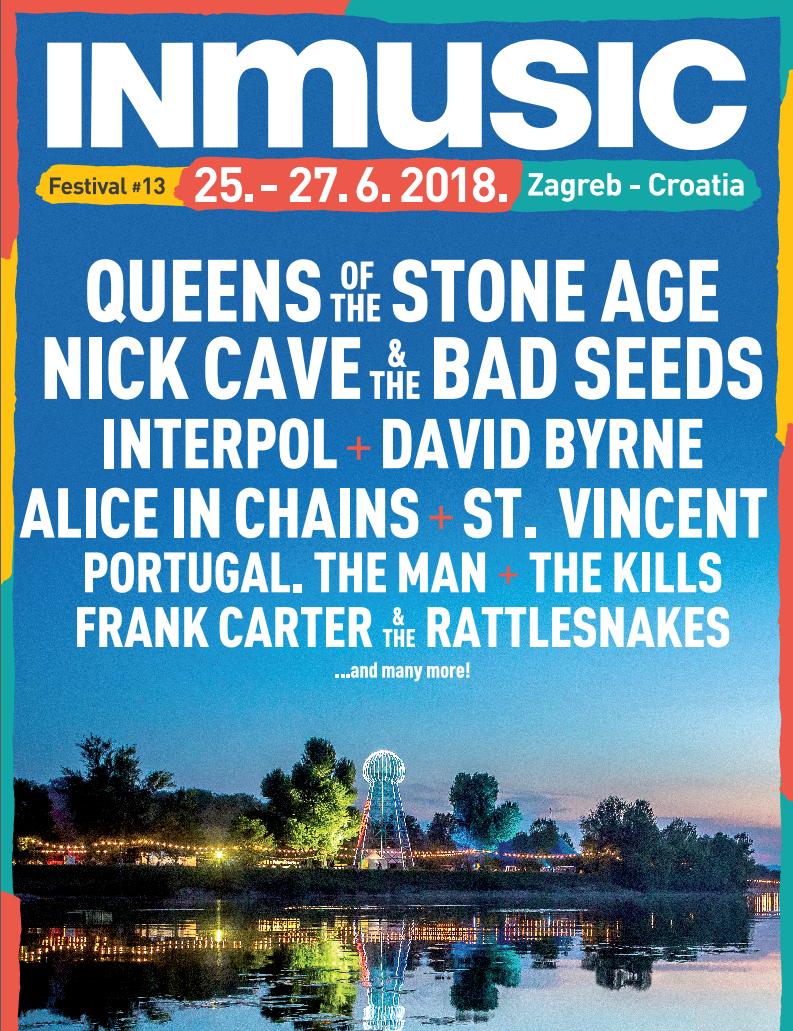 Лайн-ап InMusic festival 2018 / Скріншот афіши
