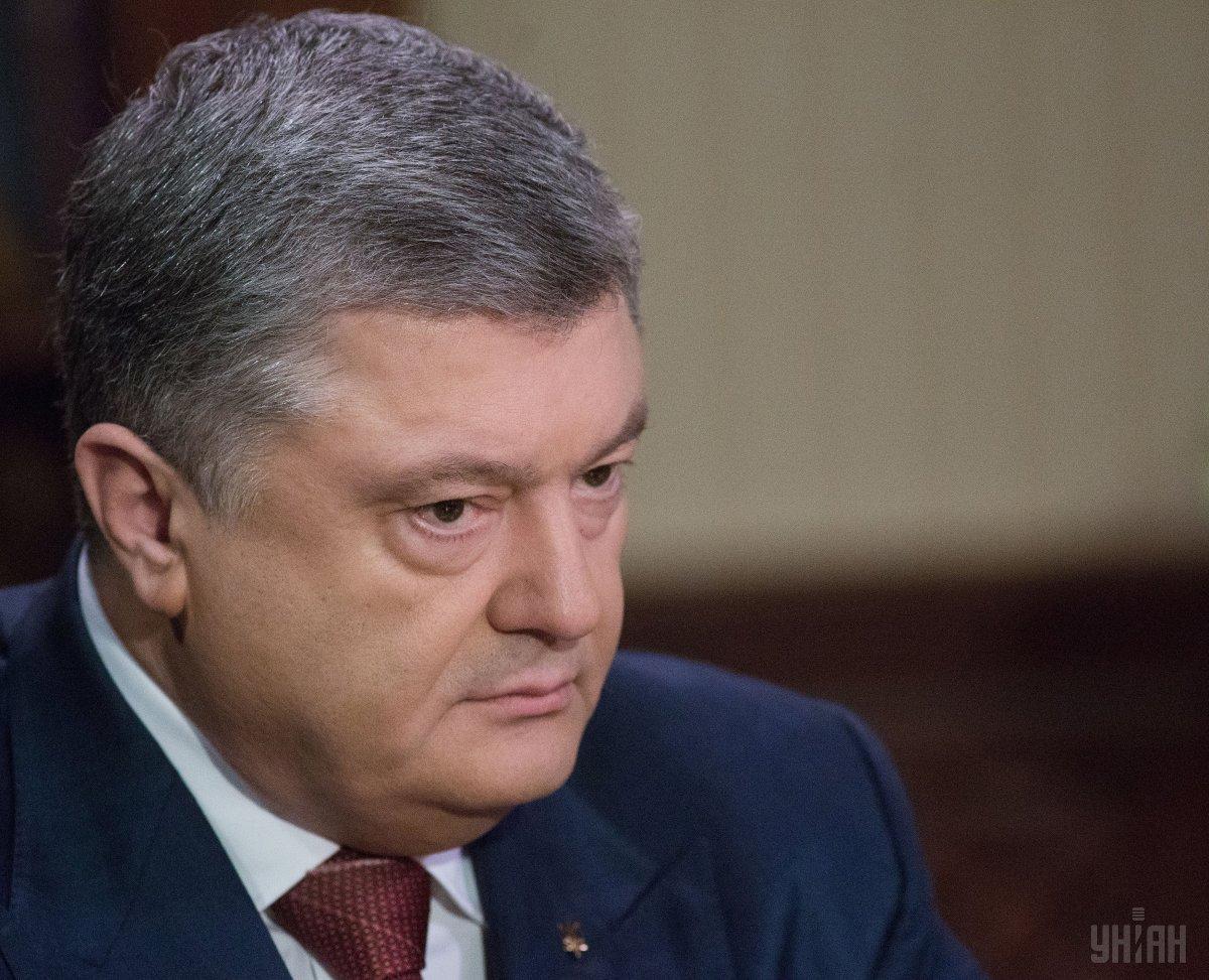Порошенко призвал политиков не использовать языковой вопрос во время избирательных кампаний / фото УНИАН