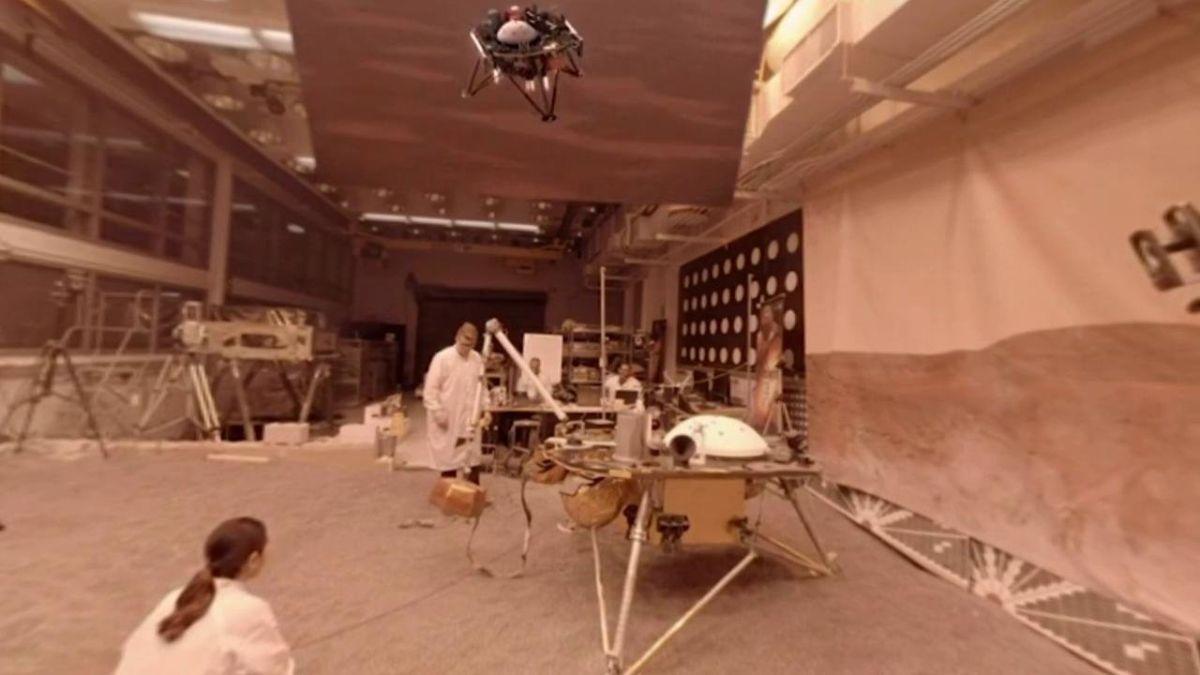 InSight не зможе пересуватися після приземлення / фото NASA/JPL-Caltech