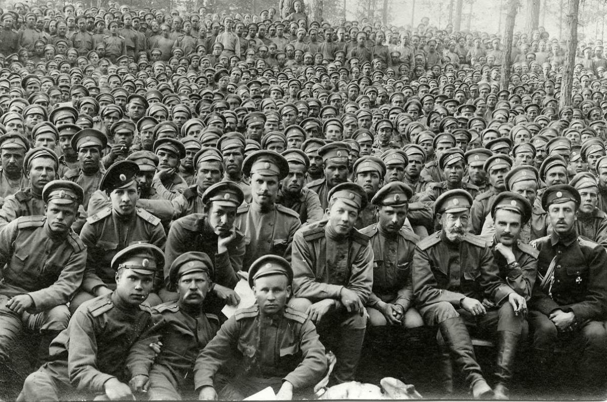 Военные Русской армии / wikipedia.org