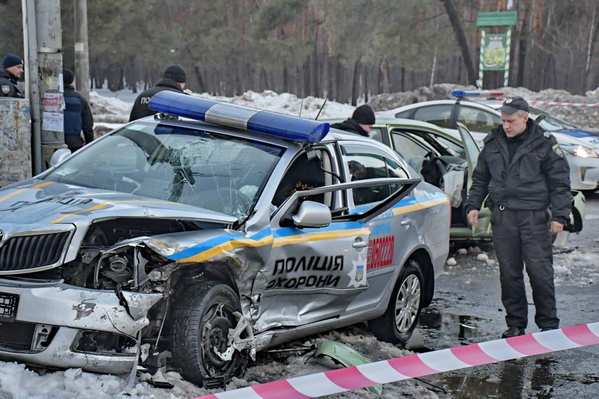 В полиции рассказали подробности ДТП с участием полицейских в Киеве / Андрей Шматов, Информатор