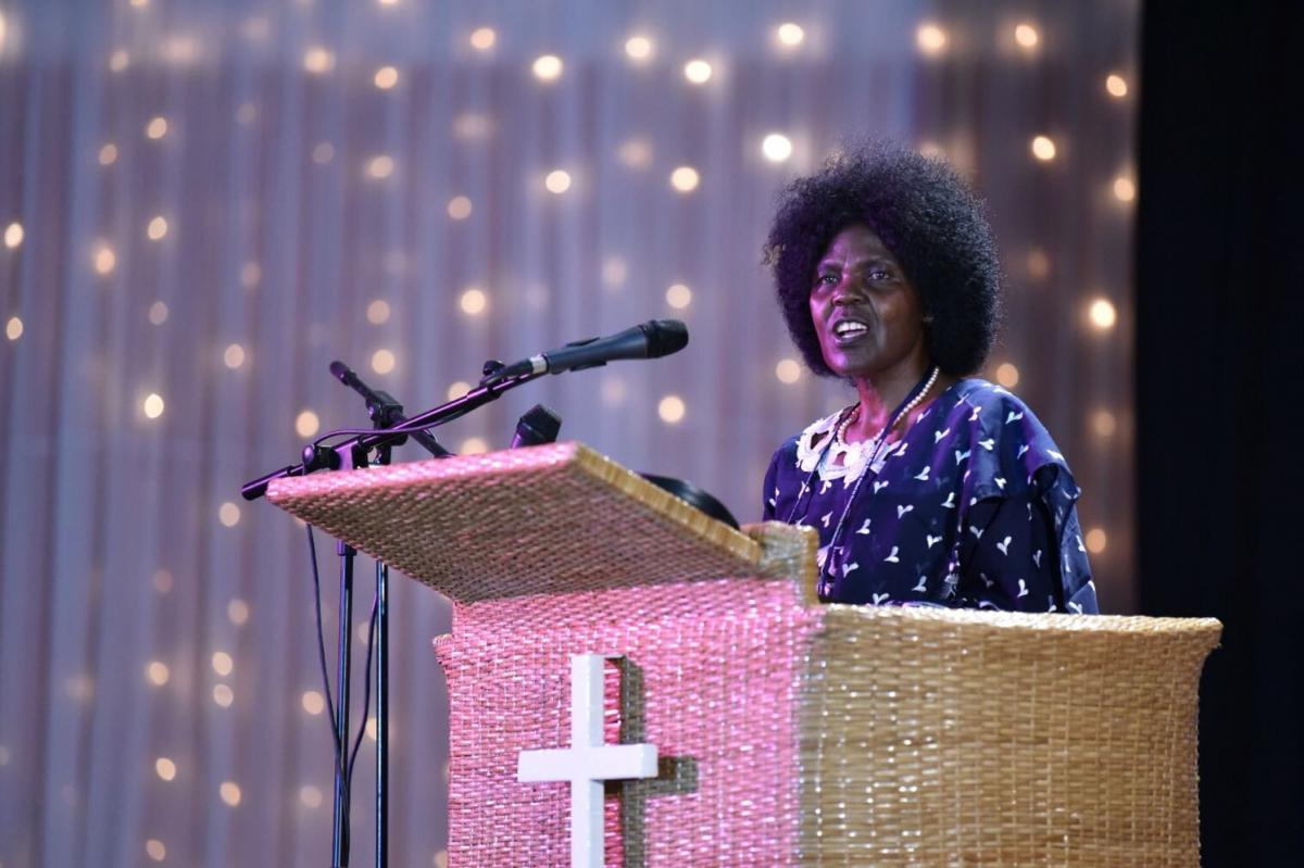 Д-р Агнес Абум, первая женщина и первый африканский модератор в истории ВСЦ / oikoumene.org