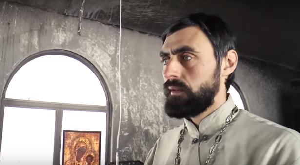 Настоятель Спасо-Преображенского храма рассказал о подробностях поджога / youtube.com