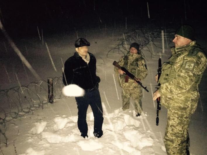 У Харківській області прикордонники затримали грузинського кримінального авторитета / фото ДПСУ