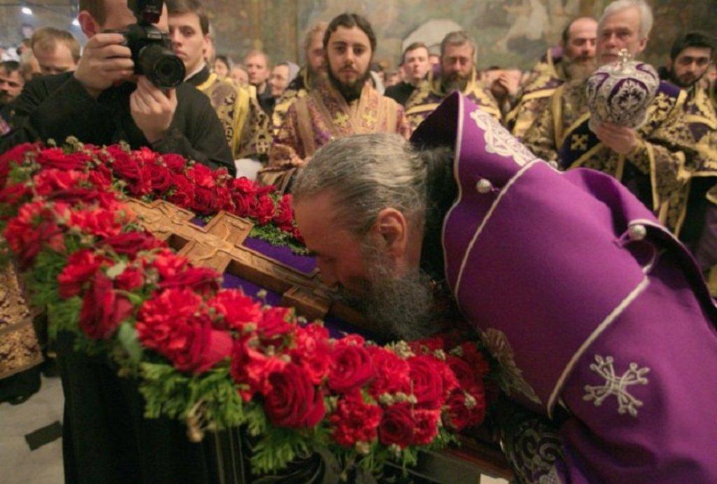 Митрополит Онуфрий назвал его «жезлом помощи и силы» / news.church.ua