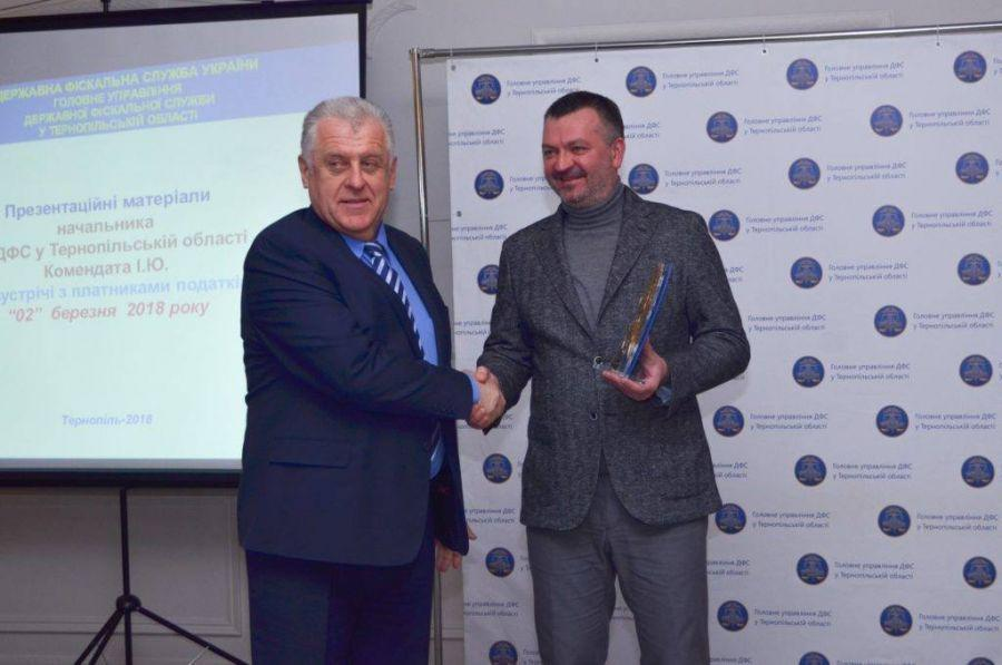 Фото прес-служби ТзОВ «Бучачагрохлібпром»