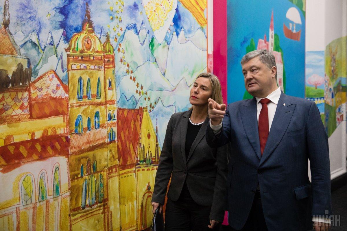 Могерини побывала в Киеве / фото УНИАН