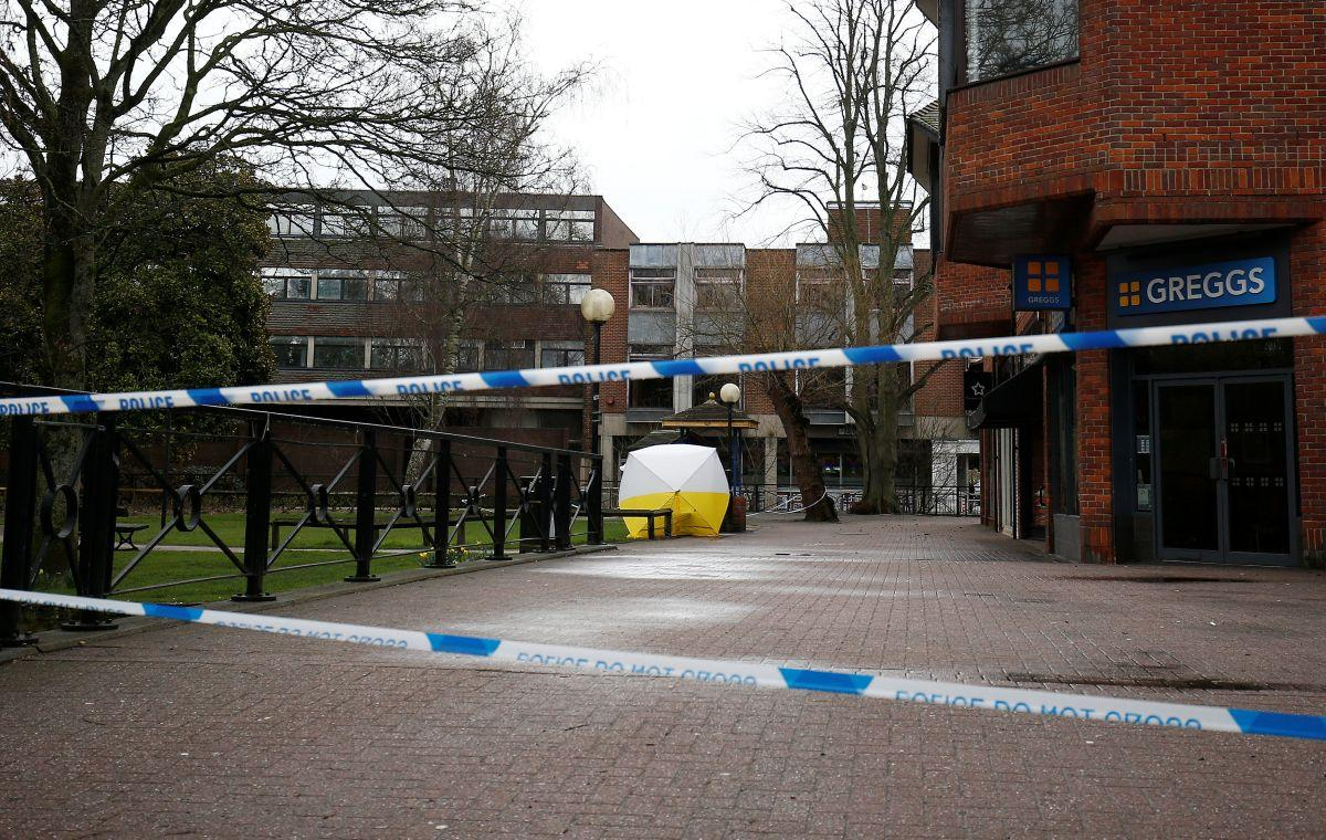 The Skripal poisoning crime scene / REUTERS