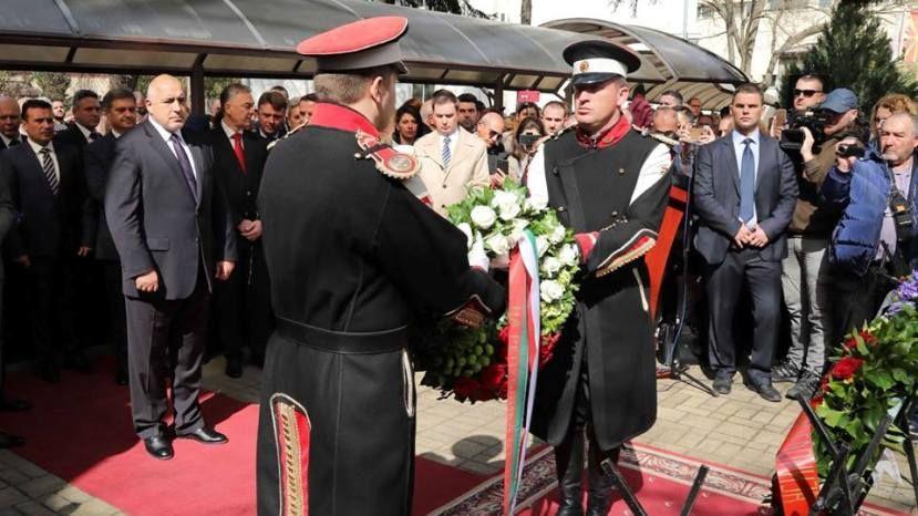 Премьеры Болгарии и Македонии в Скопье почтили память жертв Холокоста / rus.bg