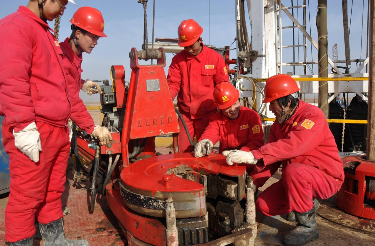 Китайцы начали бурение газовых скважин для «Укргазвыдобування» / фото ugv.com.ua