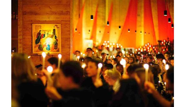 Встреча стала возможной благодаря сотрудничеству между Тезе, церквями и местными властями / taize.fr/lviv