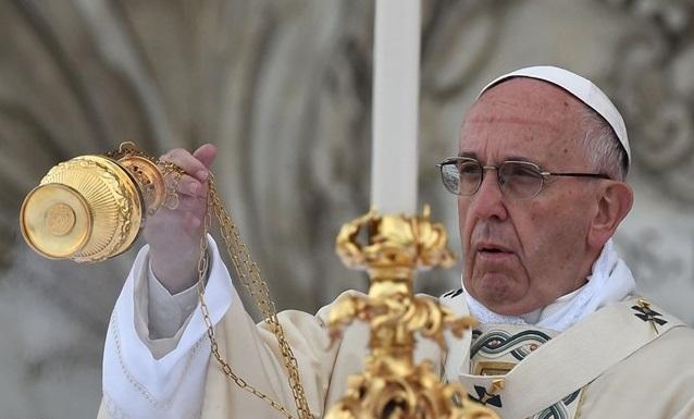 Украинские каналы будут транслировать пасхальные богослужения под руководством Папы Франциска / radiovaticana.va
