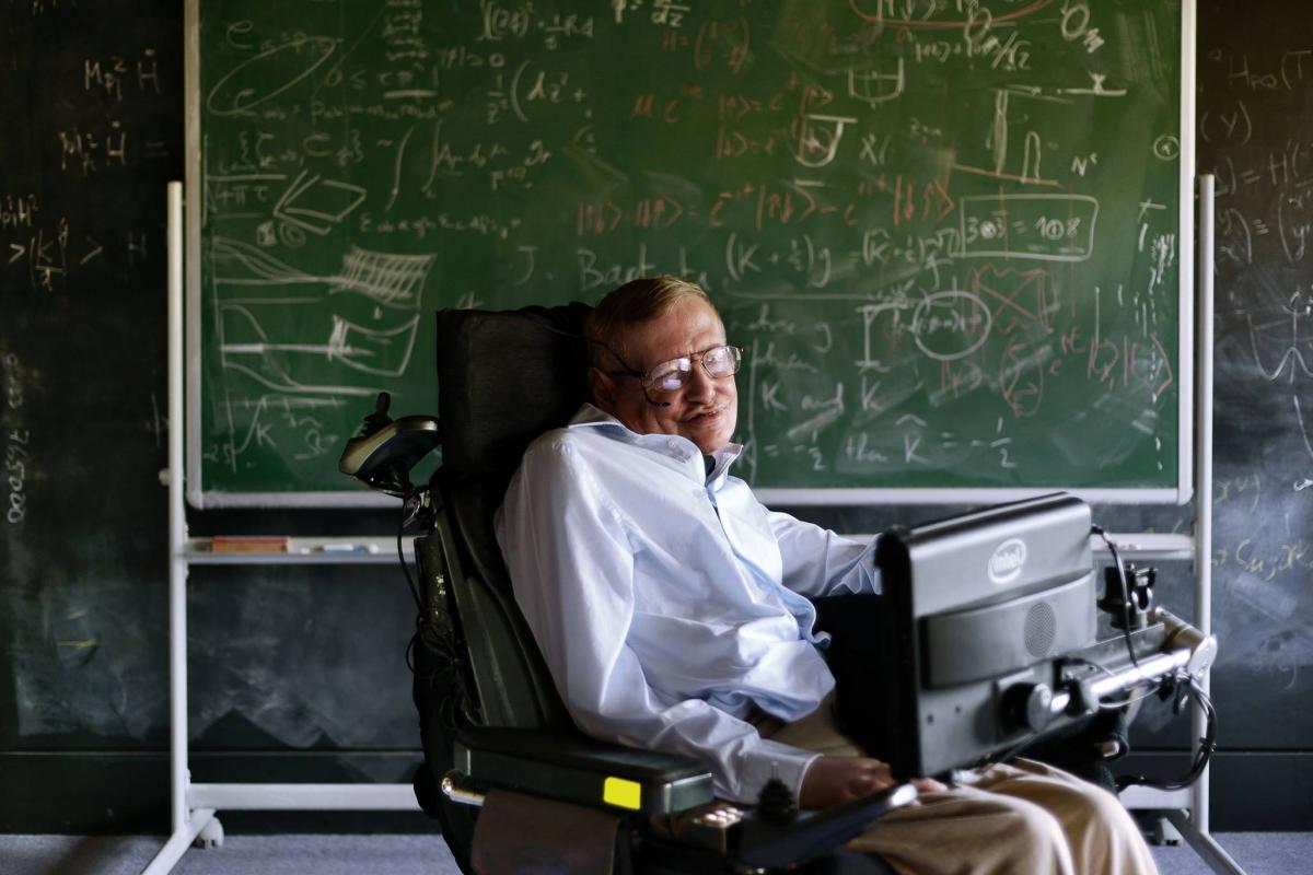 Stephen Hawking / stephenhawking