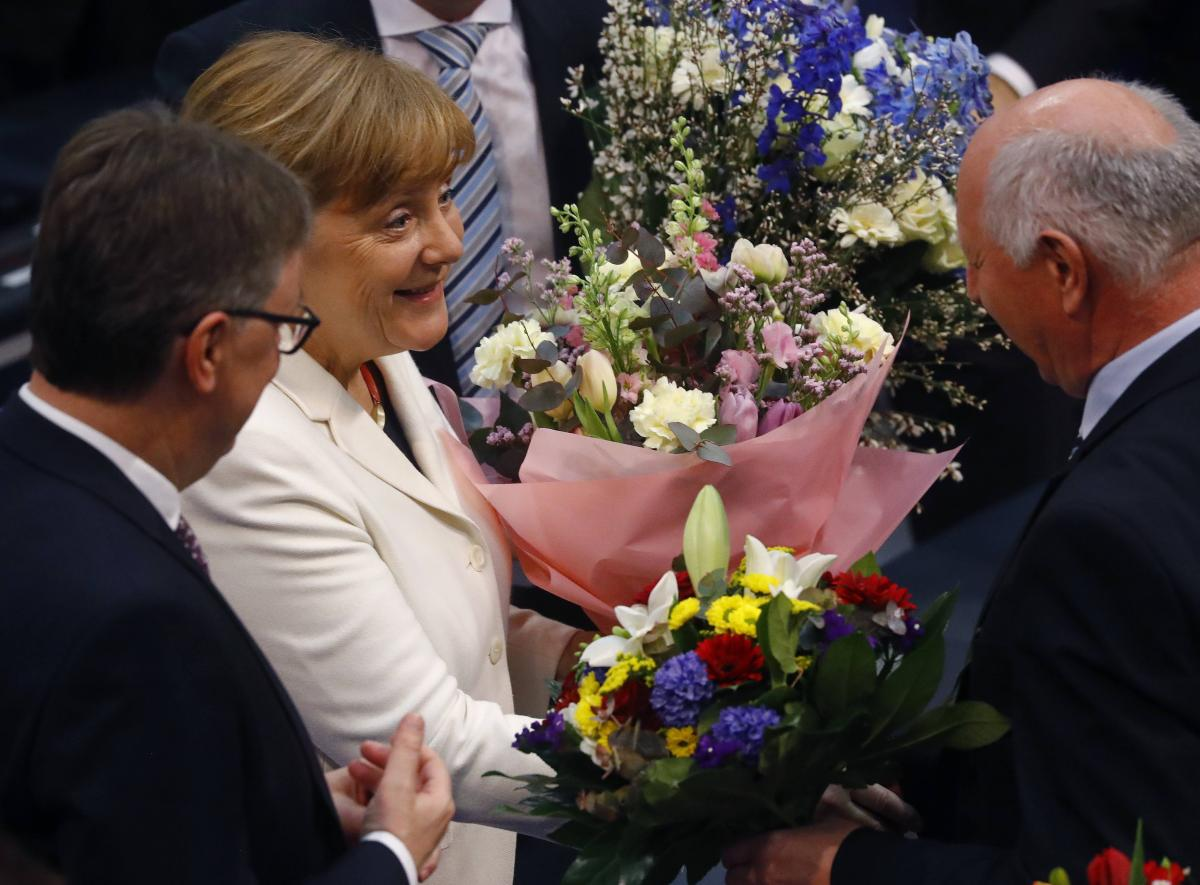 Меркель снова стала канцлером ФРГ / REUTERS