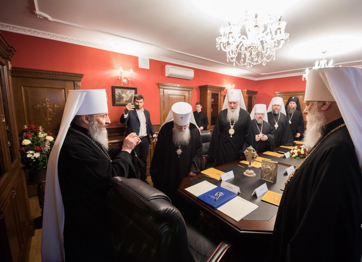 Засідання Священного Синоду УПЦ / news.church.ua