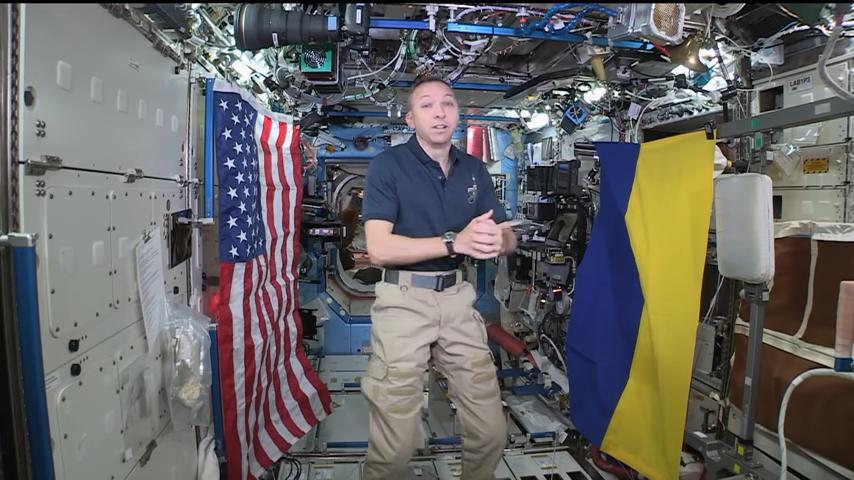 Астронавт відвідає Житомир у рамках візиту в Україну / фото itc.ua
