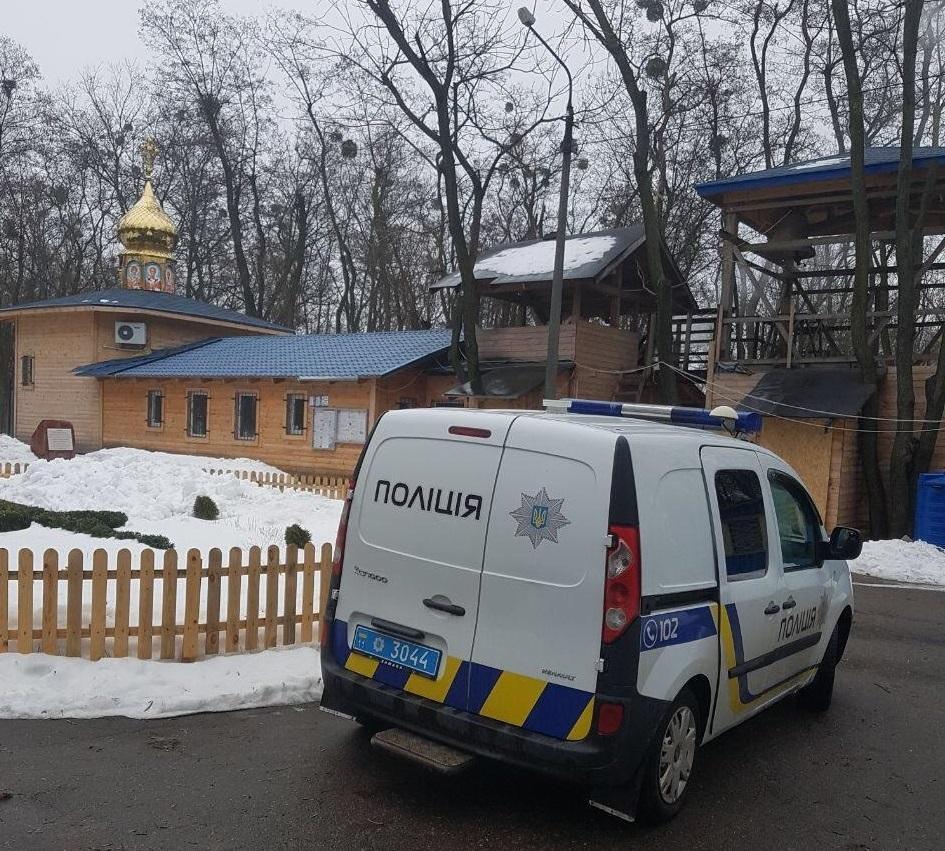 Неизвестные пытались сжечь храм УПЦ / facebook.com
