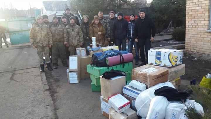 Волонтери привезли бійцям АТО чудотворні ікони / zik.ua