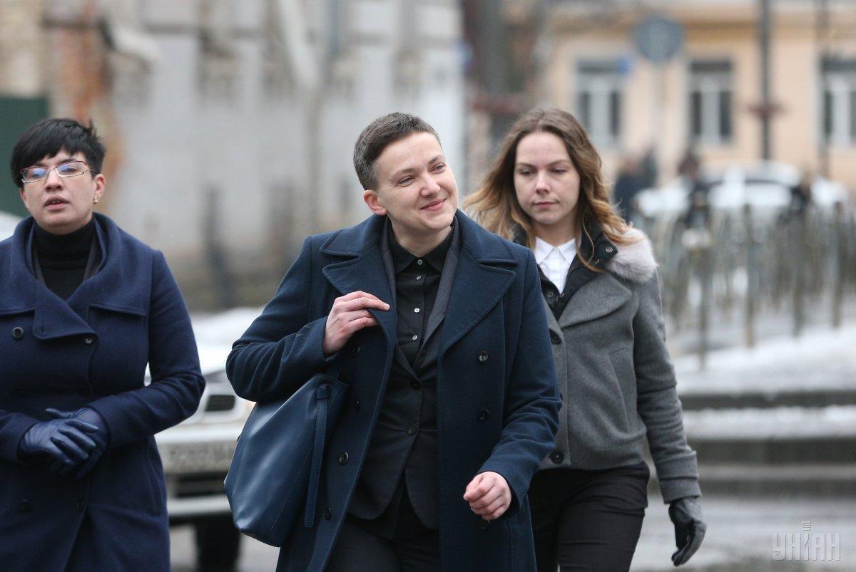 Савченко рассказала о агента, у которого не получилось ее завербовать / Фото УНИАН