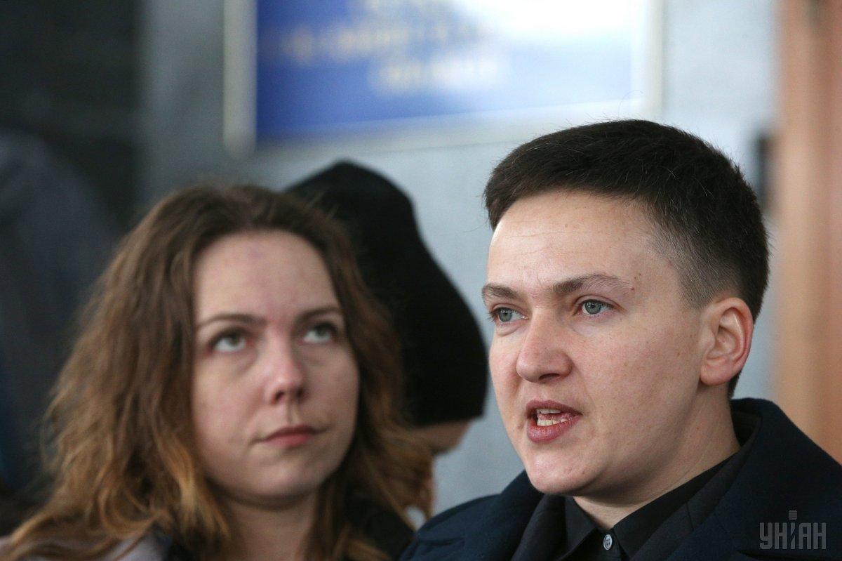 Сегодня Савченко прибыла на допрос в СБУ / фото УНИАН