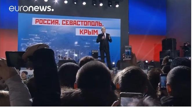 ВКиеве возмутились материалом Euronews овизите В.Путина вКрым