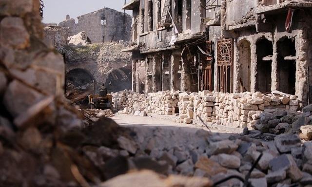 Фото: Одна из улиц Алеппо / reuters.com