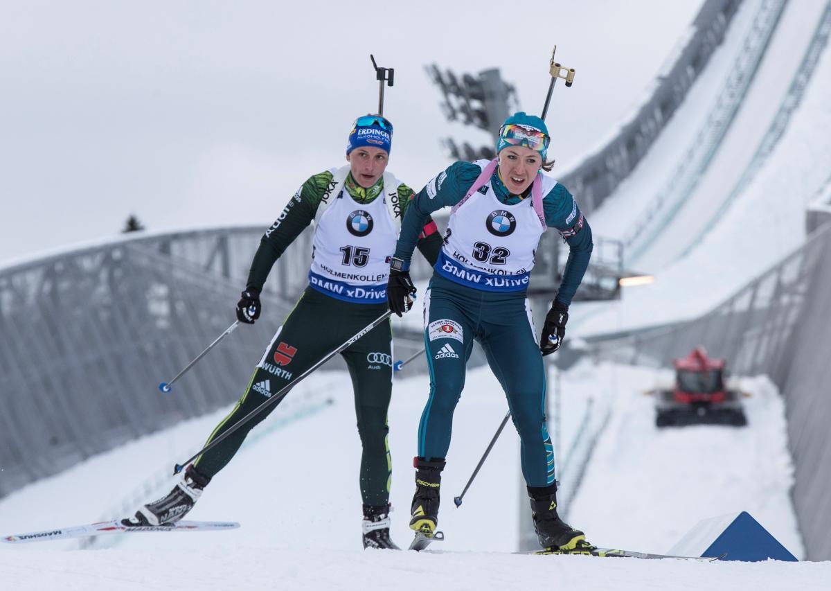 Юлия Джима (справа) будет единственной украинской олимпийской чемпионкой на этапе КМ в США/ REUTERS