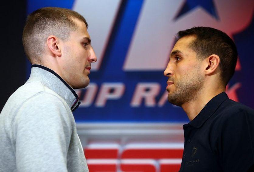 Гвоздик и Амар посмотрели друг другу в глаза / BoxingScene.com