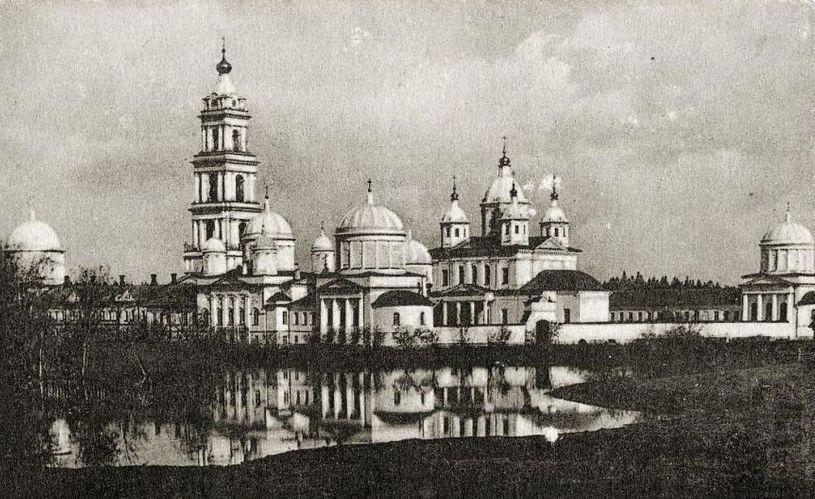 В 40-х годах пустынь была затоплена / monasterium.ru