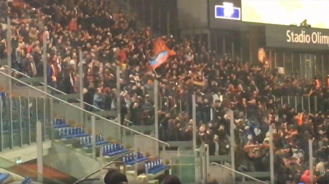 """Флаг ДНР не станет причиной разбирательств УЕФА в отношении итальянской """"Ромы"""" / Eurosport"""