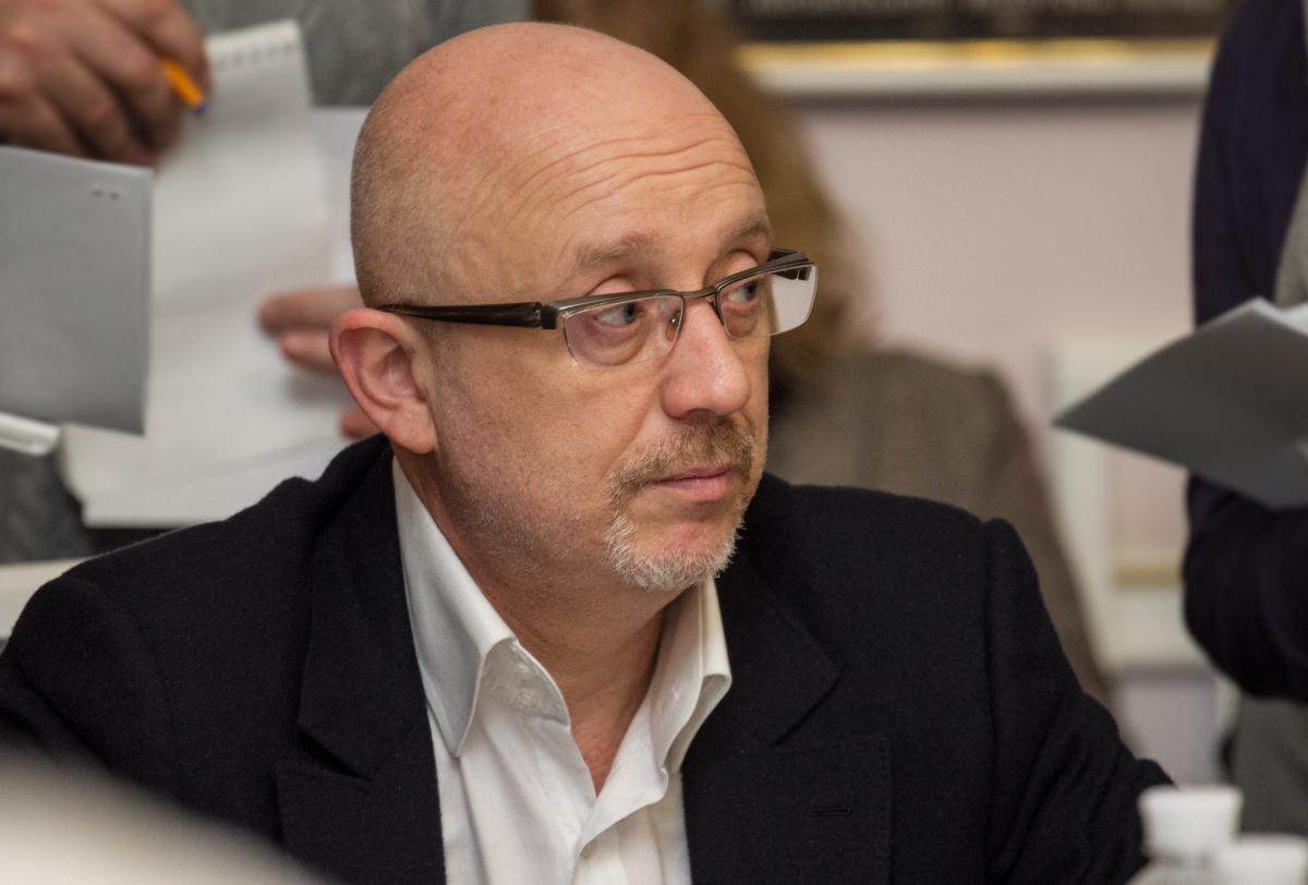 Резніков в прямому ефірі дорікнув опозиціонерці Цепкало, яка втекла від запитання про Донбас / Фото kyivcity.gov.ua