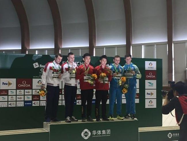 Украинские прыгуны в воду завоевали медаль этапа Мировой серии в Японии / fina.org
