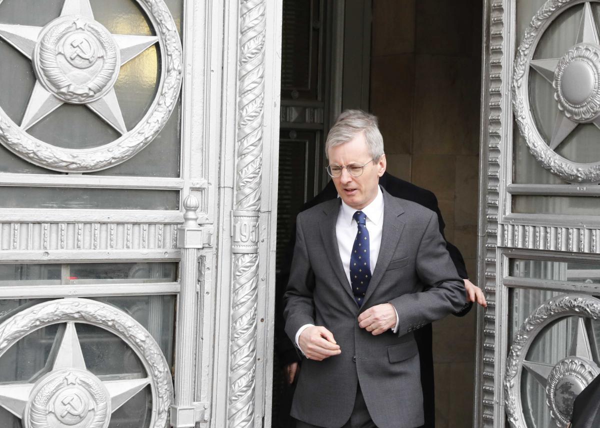 Британський посол в РФ Лорі Брістоу  / фото REUTERS