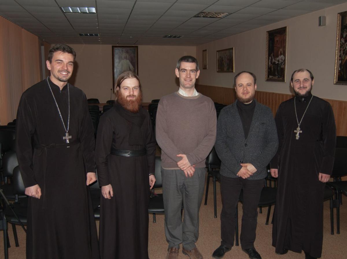 В Херсонском епархиальном управлении состоялась международная молодежная встреча