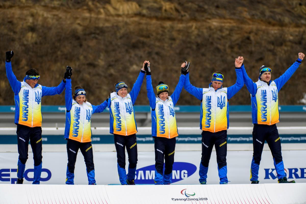 Сборная Украины завоевала седьмое золото Паралимпиады в эстафете / REUTERS
