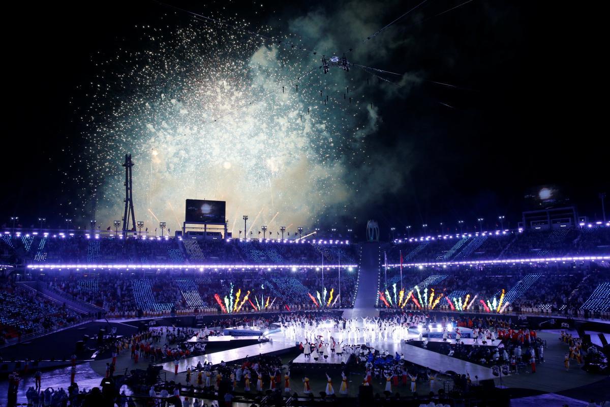 Закриття Паралімпіади-2018 / REUTERS
