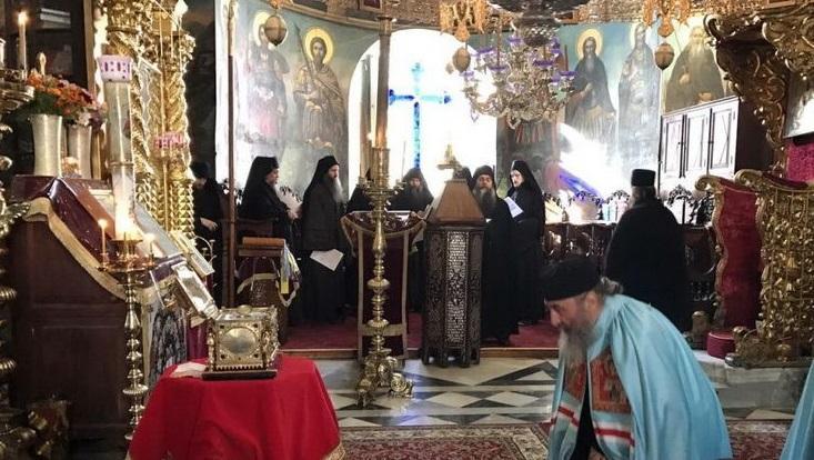 Предстоятель УПЦ на Афоні вшанував пам'ять матері св. Пантелеймона / afonit.info