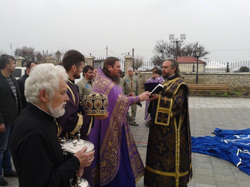 У Севастополі освятили повітряна куля з образом святителя Луки Кримського / hersones.org