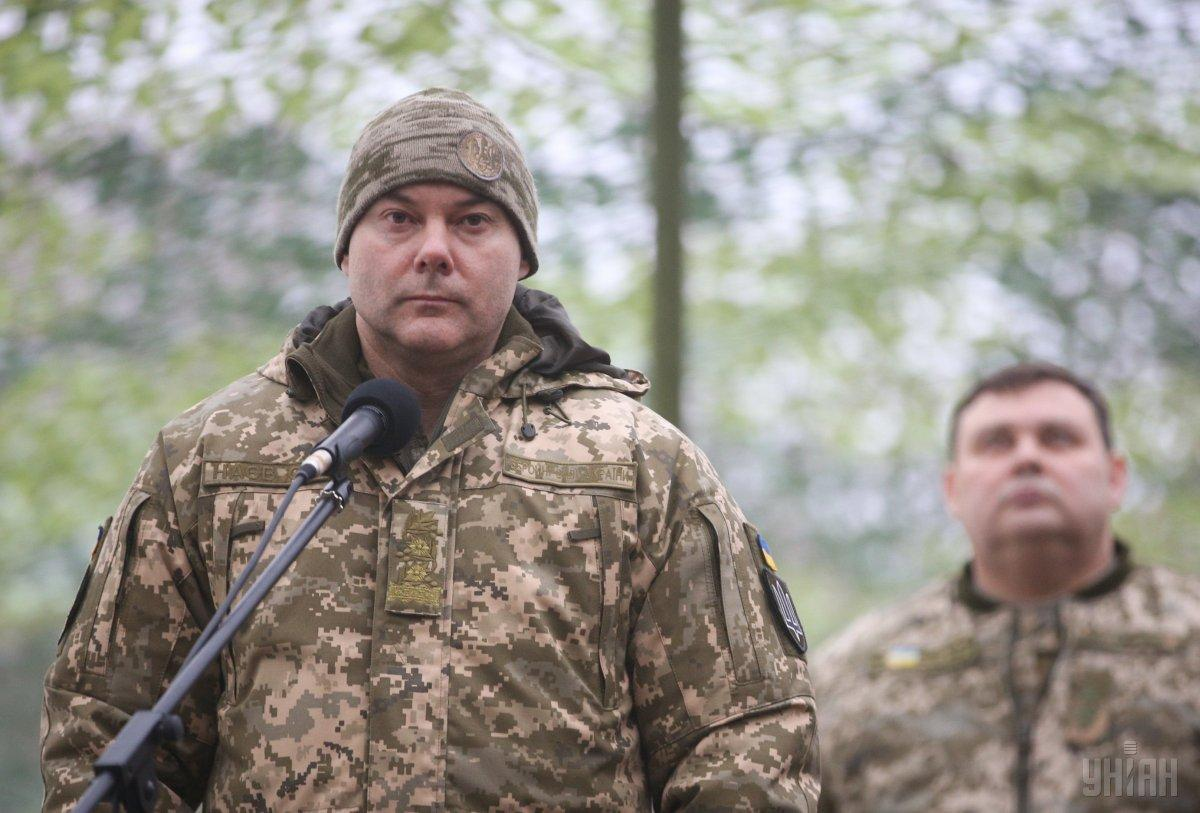 Lieutenant-General Nayev is in charge of the Joint Forces Operation in Donbas / Photo from UNIAN