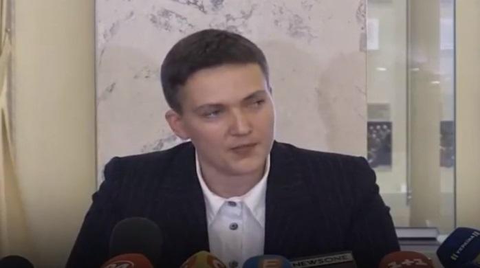 Нардепи порадили Савченко отруїти парламент газом / Скріншот