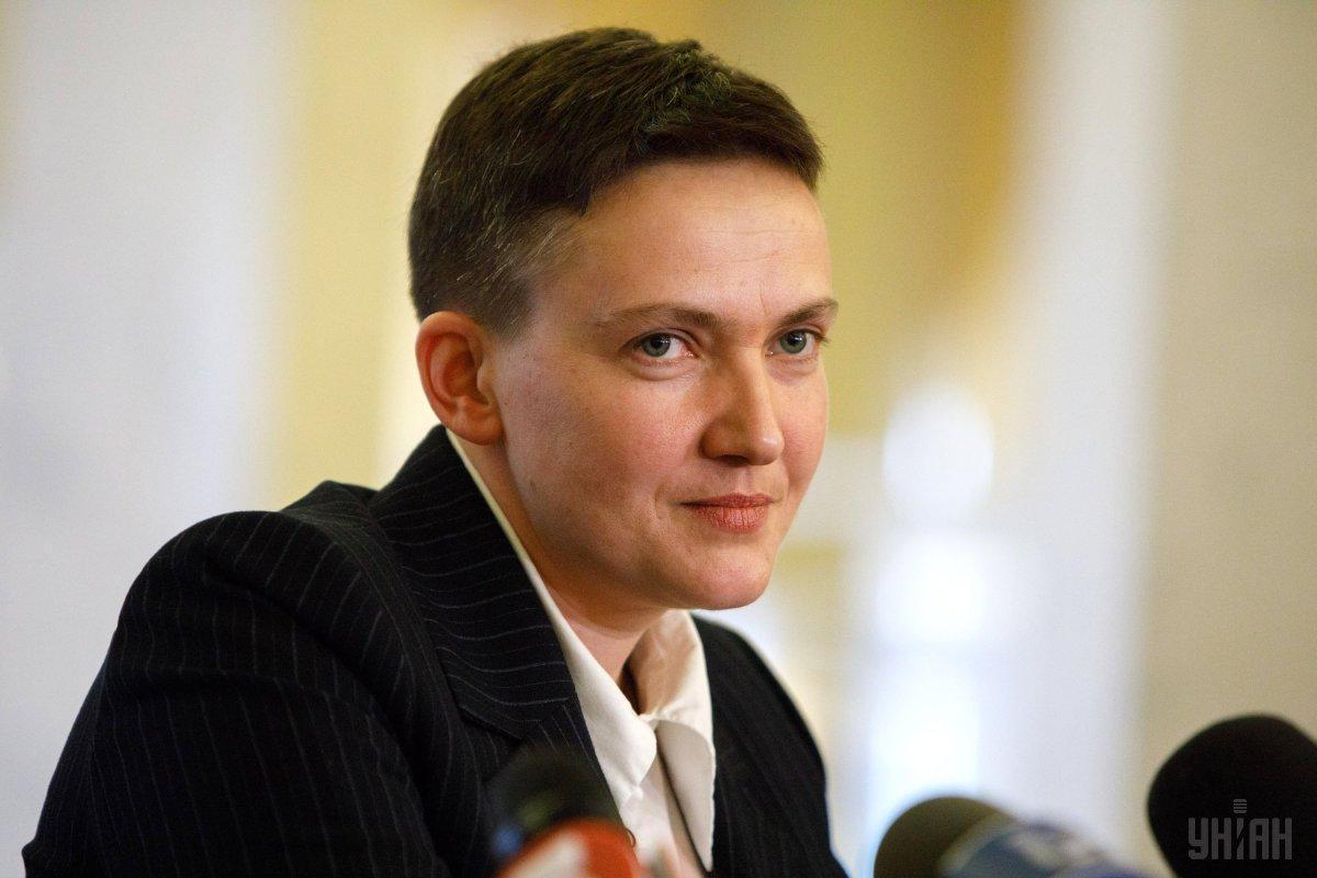 Ранее парламент исключил Савченко из состава Комитета ВР по нацбезопасности и обороны / фото УНИАН