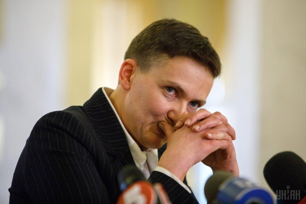 Присутні негативно сприйняли прихід Савченко / фото УНІАН